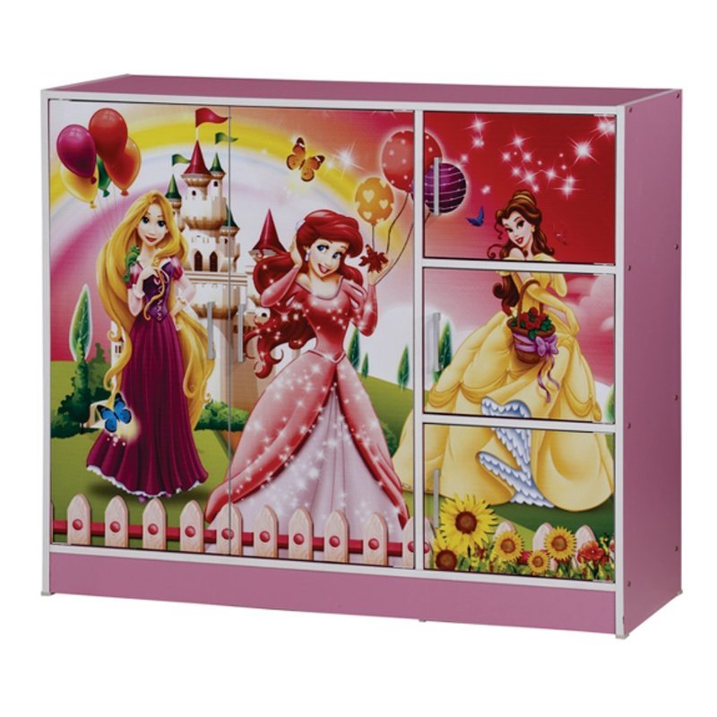 Princess Children Wardrobe