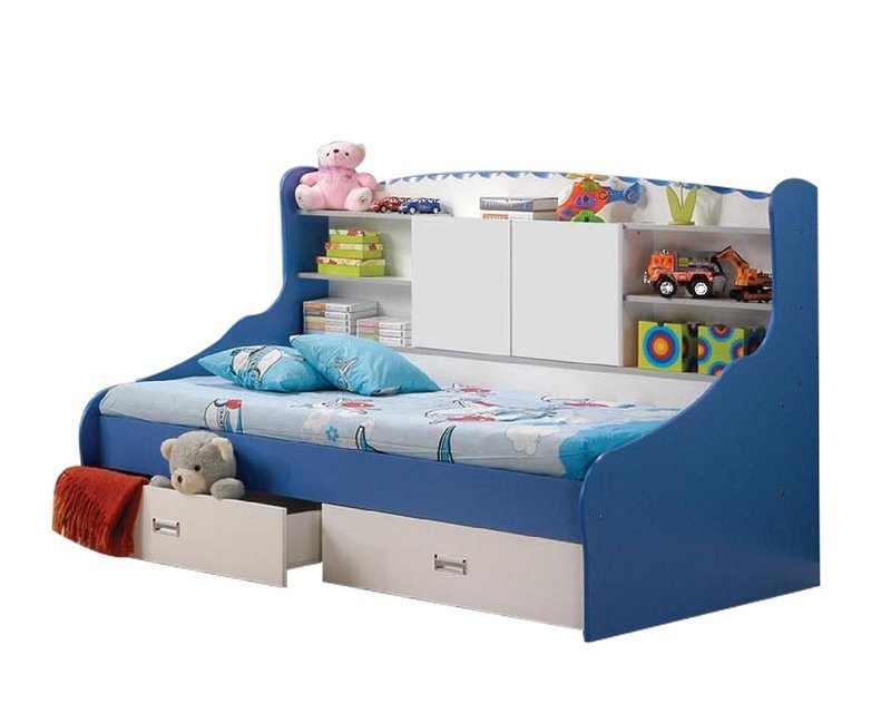 [PRE-ORDER] Children Single Bed with Drawers