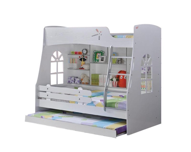 [PRE-ORDER] Children Triple Bunk Bed