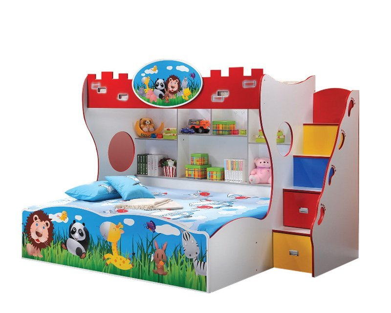 [PRE-ORDER] Children Bunk Bed with Ladder
