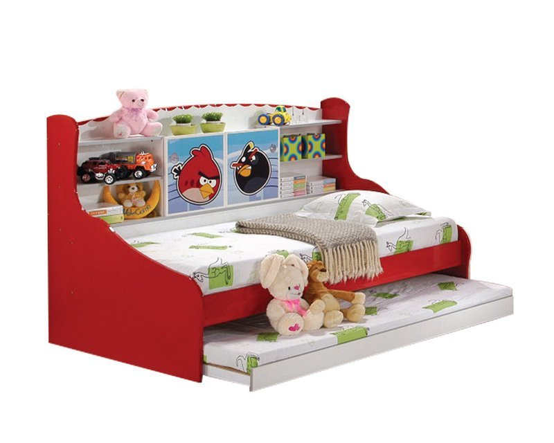 [PRE-ORDER] Children Single Bed with pull out Bed