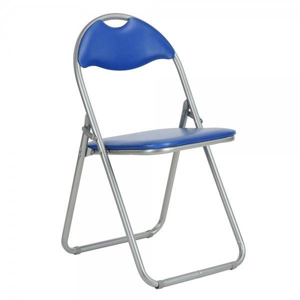 Foldable Chair (Peacock Blue)