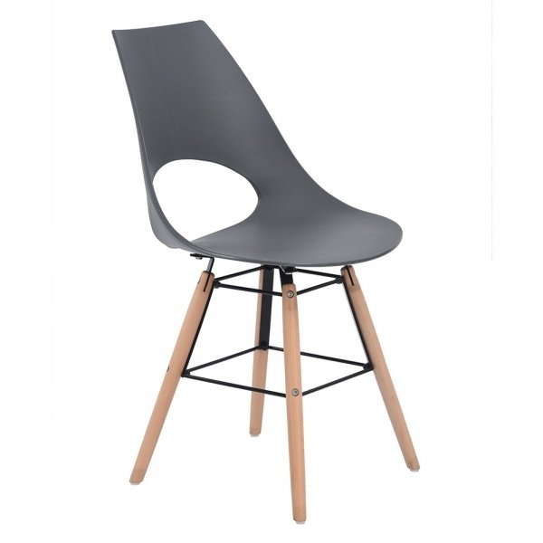 Dining Chair (Hanna  Grey)