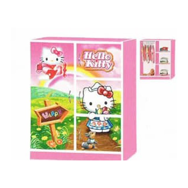 Children Wardrobe- Hello Kitty