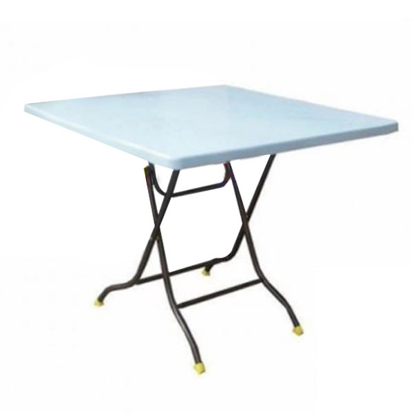 3ft Square Plastic Table