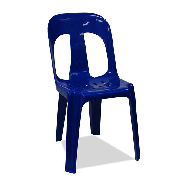 Plastic Chair (Blue/Red)