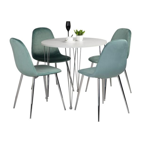 Dining Set (Chromed)