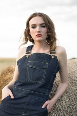 West Denim Overalls