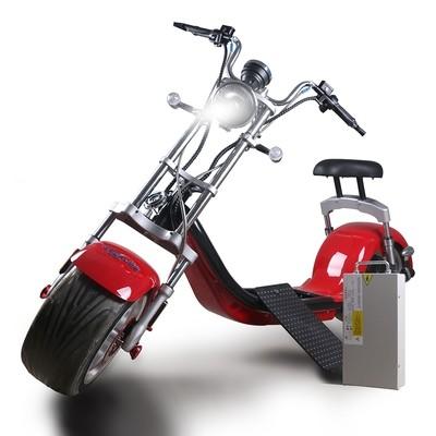 Scooter électrique City Coco Harley Homologué Route EEC/COC