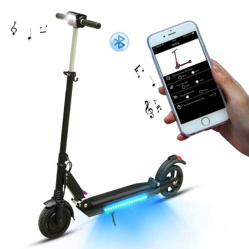 Trottinette électrique Yapai Super V2 Bluetooth + Led + App