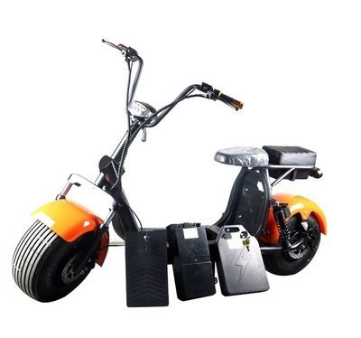 Scooter électrique City Coco PRO - Double batterie