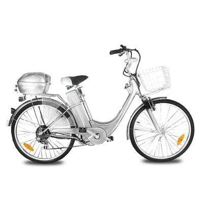 Vélo électrique City Bike VIRON MOTORS SILVER