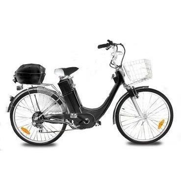 Vélo électrique City Bike VIRON MOTORS BLACK