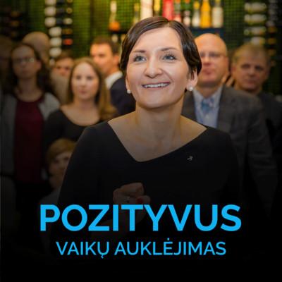 Video - A. Landsbergienė - Pozityvus vaikų auklėjimas
