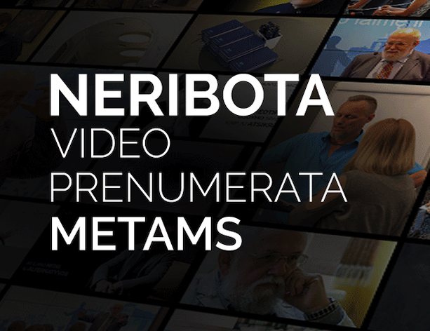 Metų prenumerata VISIEMS Alma Master VIDEO