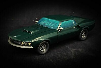 28mm Heroic Scale 'Merican Muscle Car