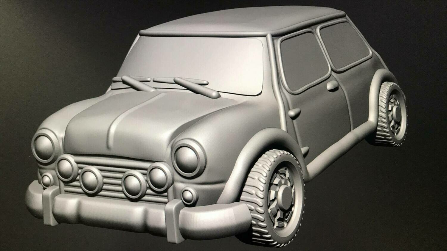 28mm Heroic Scale Lil Brit Sports car