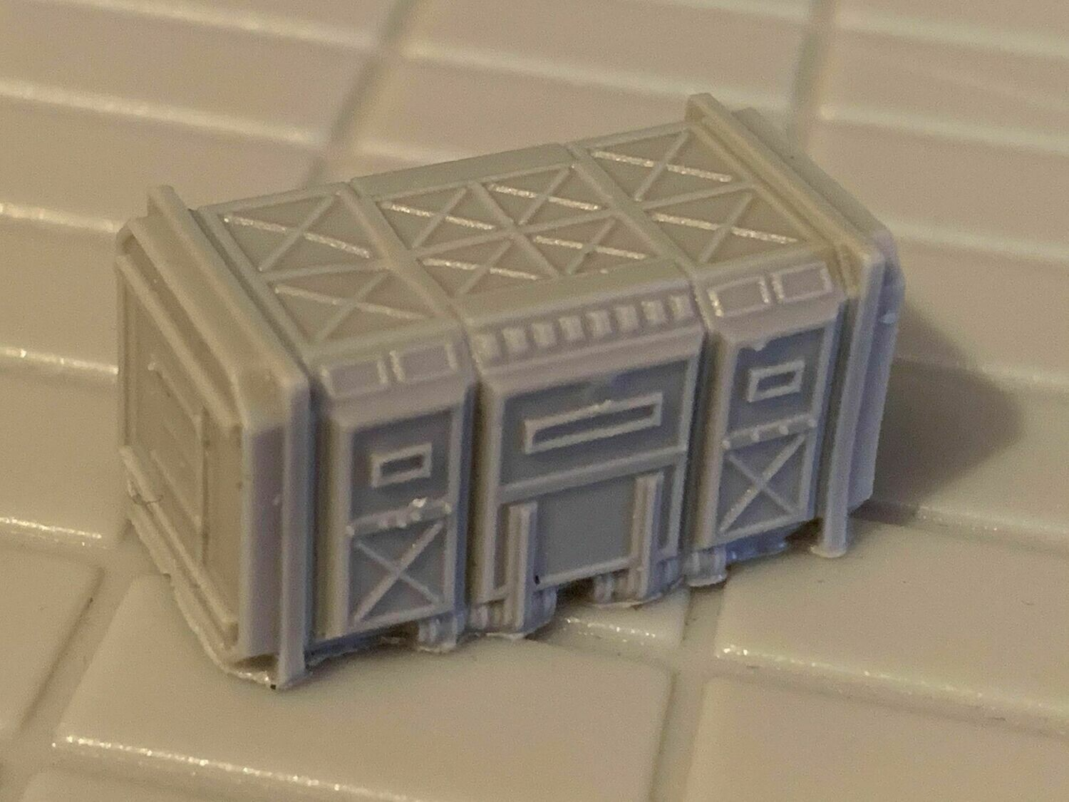 6-8mm Epically Scaled Container for Scenery or Goliath x 1