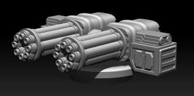 STL FIle Chain Gun