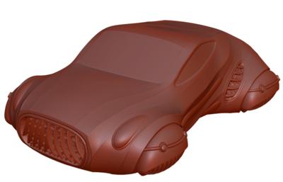 STL File Peregrine Coupe