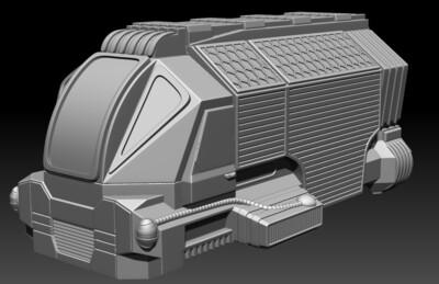 STL File Deliverance Skyvan