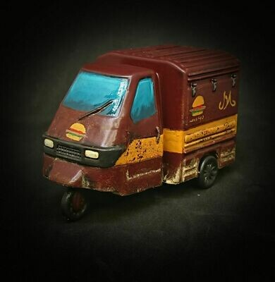 28mm Heroic Scale Coffee Tuk Tuk **EXCLUSIVE**
