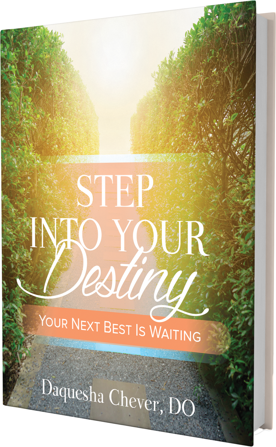 "Step Into Your Destiny ""Your Next Best Is Waiting"""