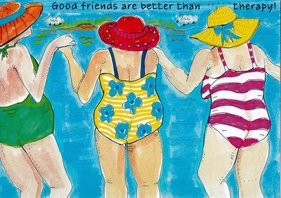 Good friends are better than therapy