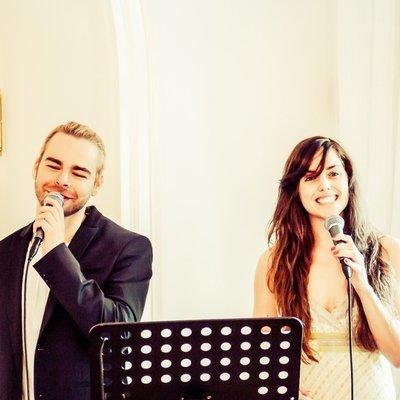 Tialda & Sascha als Duett zur Trauung