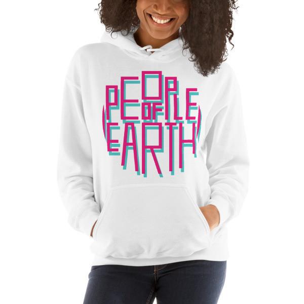 POE Hoodie-Pink Logo VARIOUS COLORS