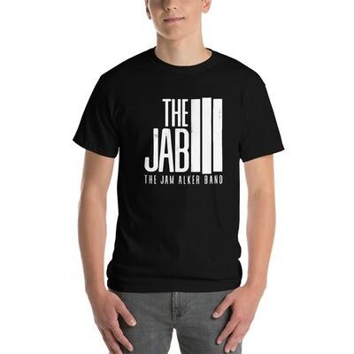 The JAB White Logo. Men's Short Sleeve T-Shirt.