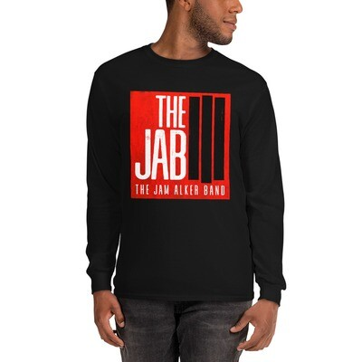 The JAB Red Logo. Men's Long Sleeve T-Shirt. 3 Colors.