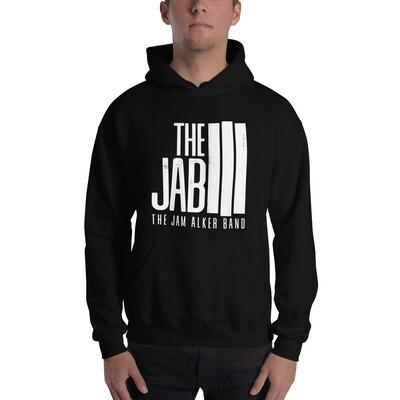 The JAB White Logo. Unisex Hoodie.