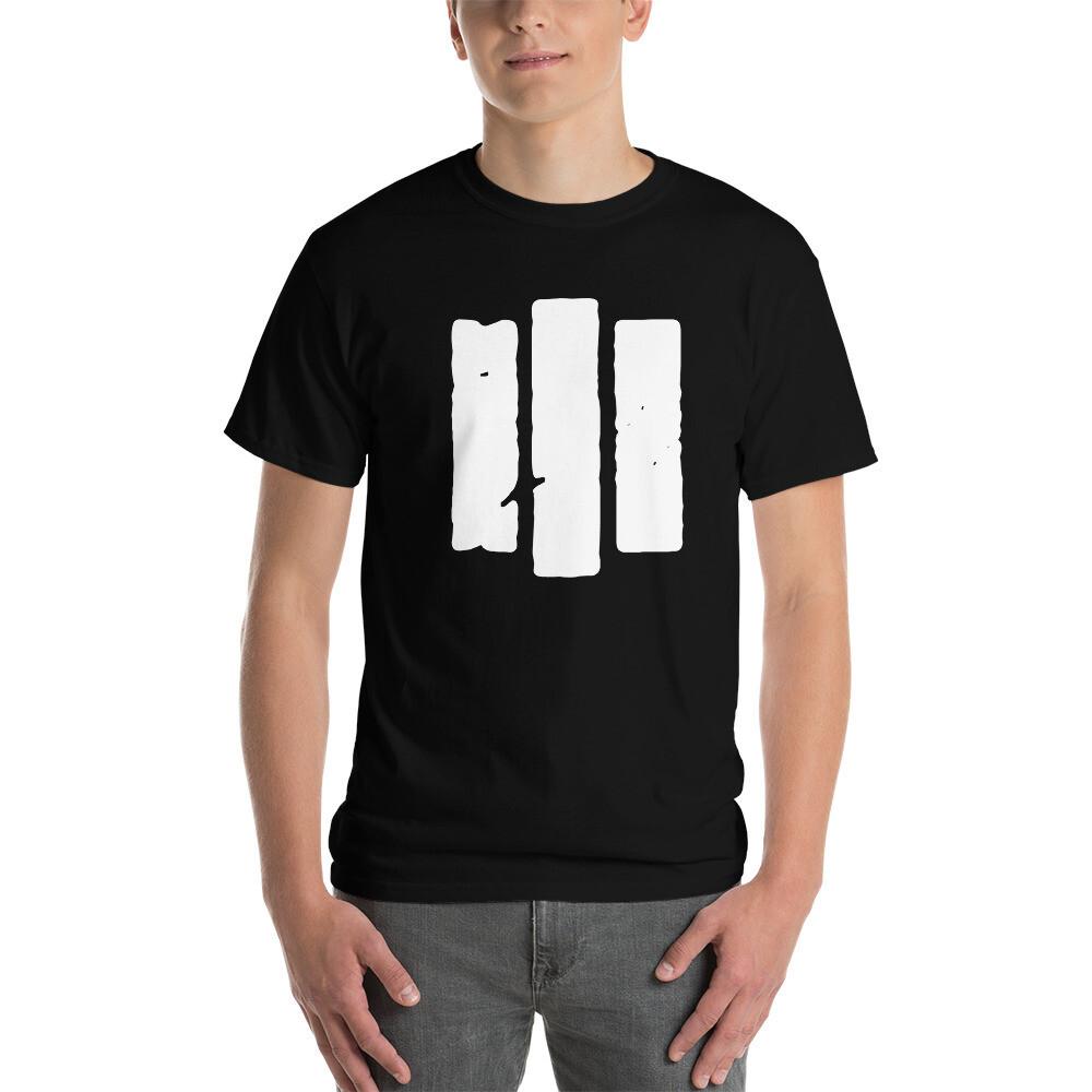 The Middle Way. White Logo. Men's Short Sleeve T-Shirt