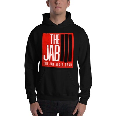 The JAB Red Logo. Unisex Hoodie. 3 Colors.