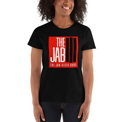 The JAB Red Logo. Women's Short Sleeve T-shirt. 3 Colors.