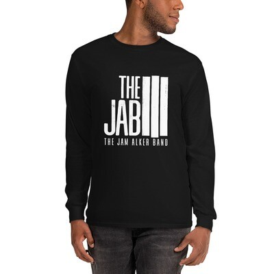 The JAB White Logo. Men's Long Sleeve T-Shirt.