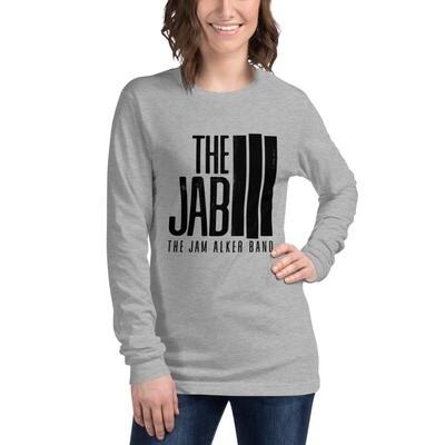 The JAB Black Logo. Women's Long Sleeve T-Shirt. 2 Colors.