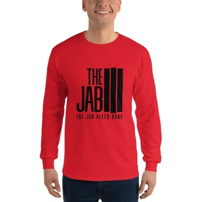The JAB Black Logo. Men's Long Sleeve T-Shirt. 3 Colors.
