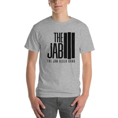The JAB Black Logo. Men's Short Sleeve T-Shirt. 2 Colors.