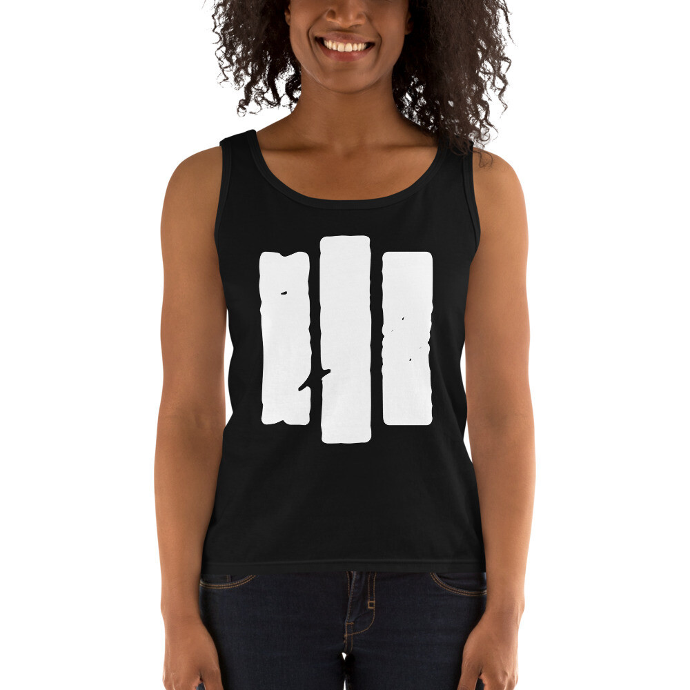 The Middle Way. Women's Tank. Black.