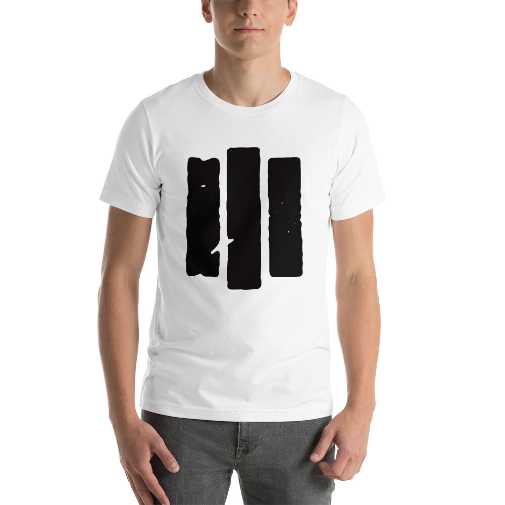 The Middle Way. Black Logo. Men's T-shirt.