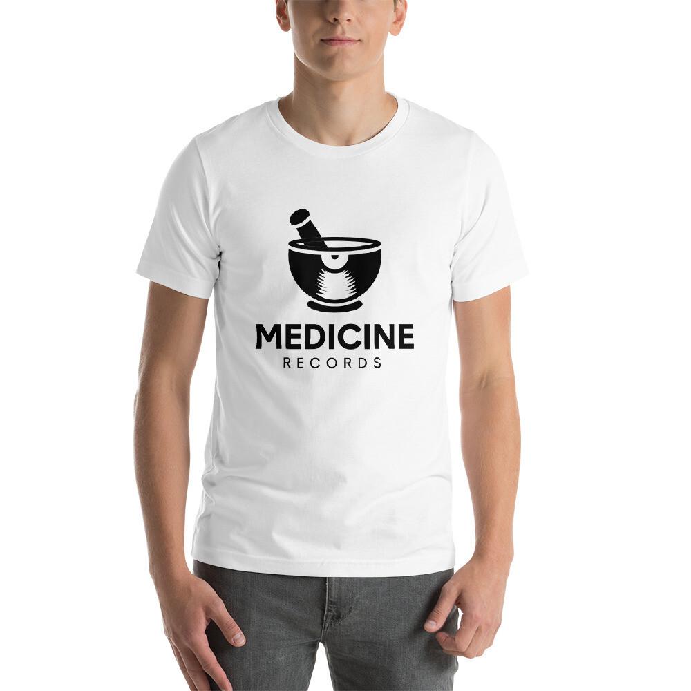 Medicine Records. Black Logo. Men's T-Shirt