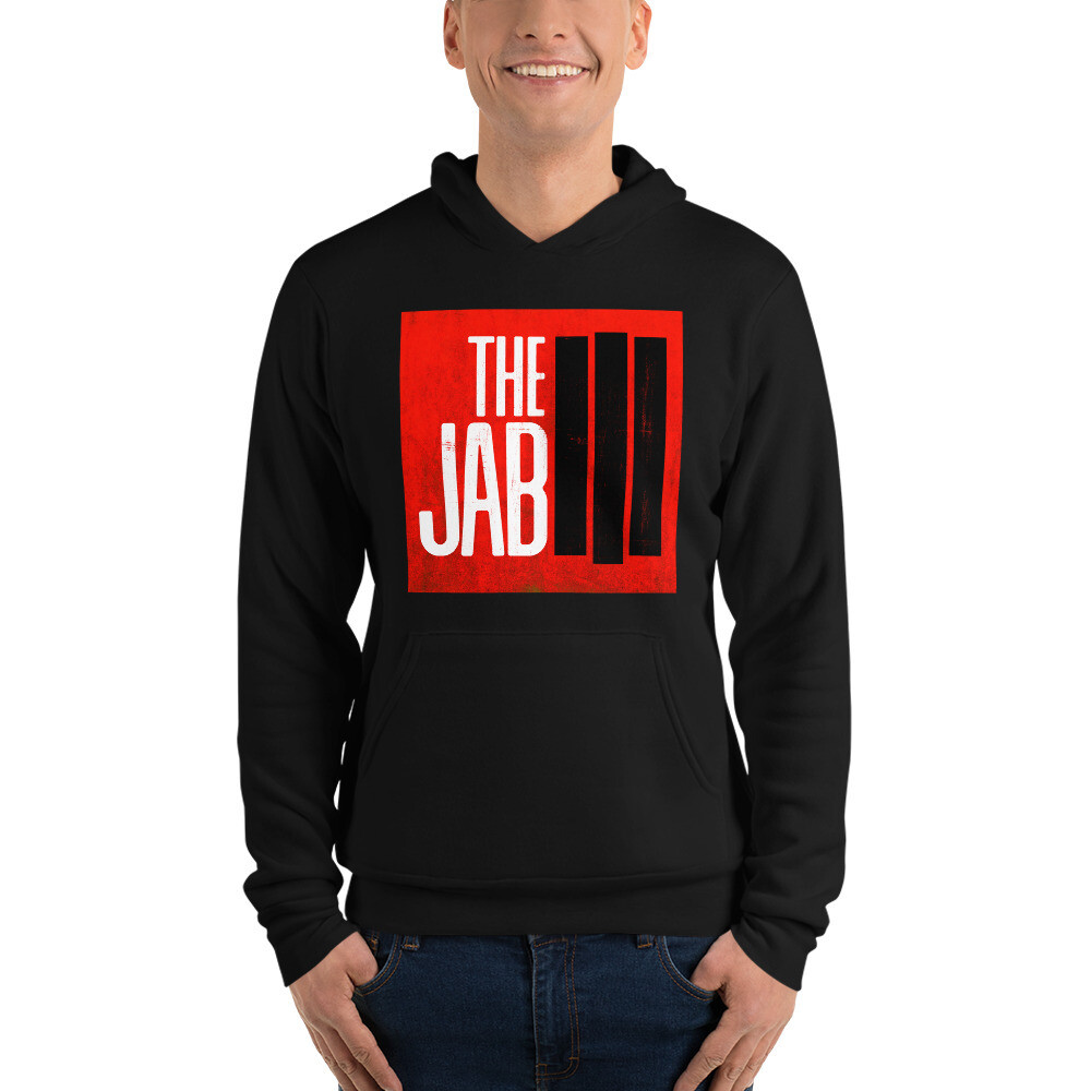 The JAB Red Logo. Unisex Hoodie. 4 Colors.