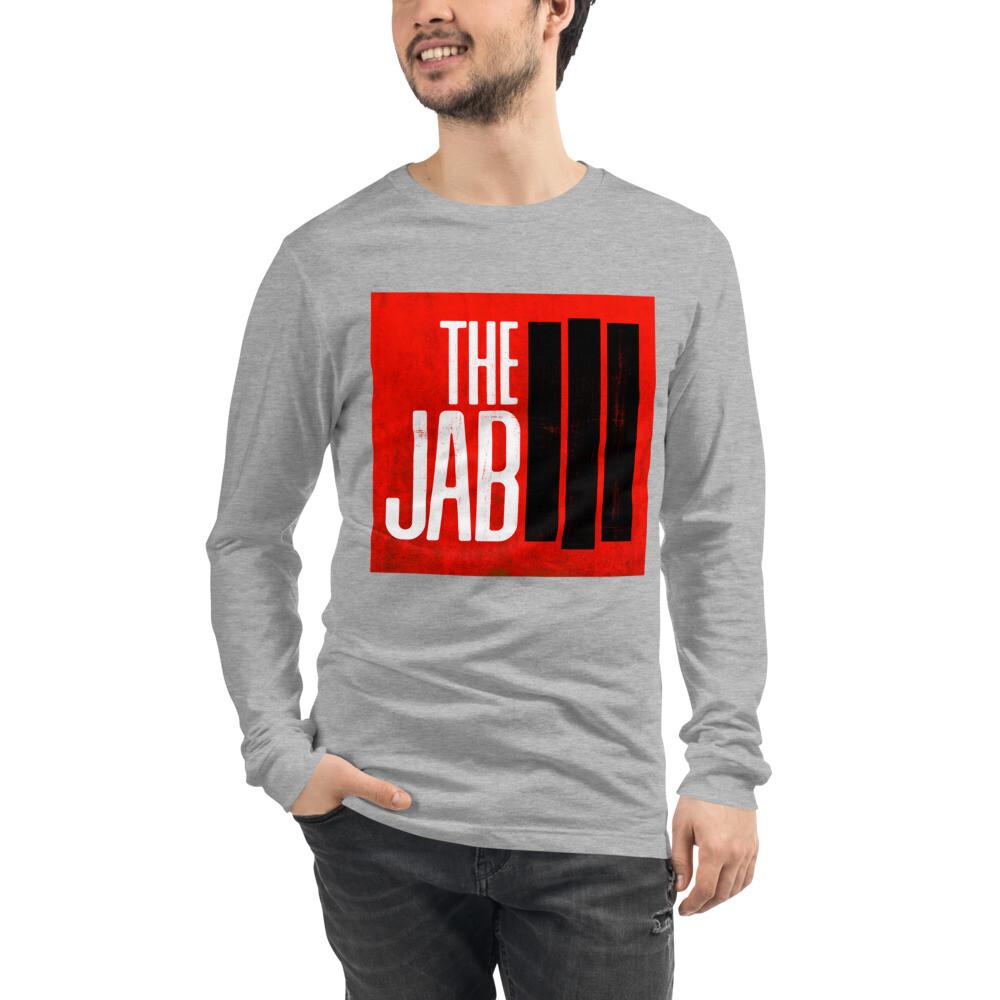 The JAB Red Logo. Men's Long Sleeve T-Shirt. 4 Colors.