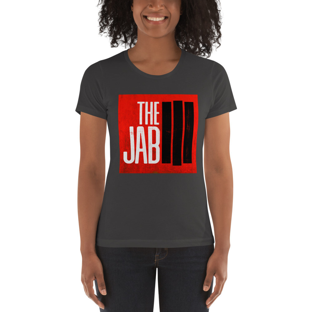 The JAB Red Logo. Women's Short Sleeve T-shirt. 4 Colors.