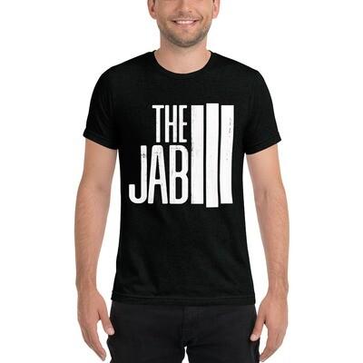 The JAB White Logo. Men's Short Sleeve T-Shirt. 3 Colors.