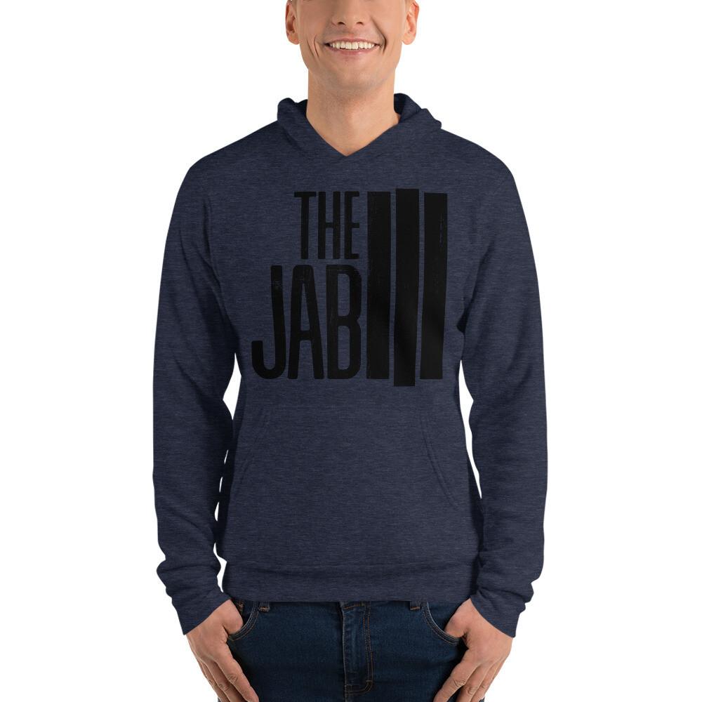 The JAB Black Logo. Unisex Hoodie. 3 Colors.