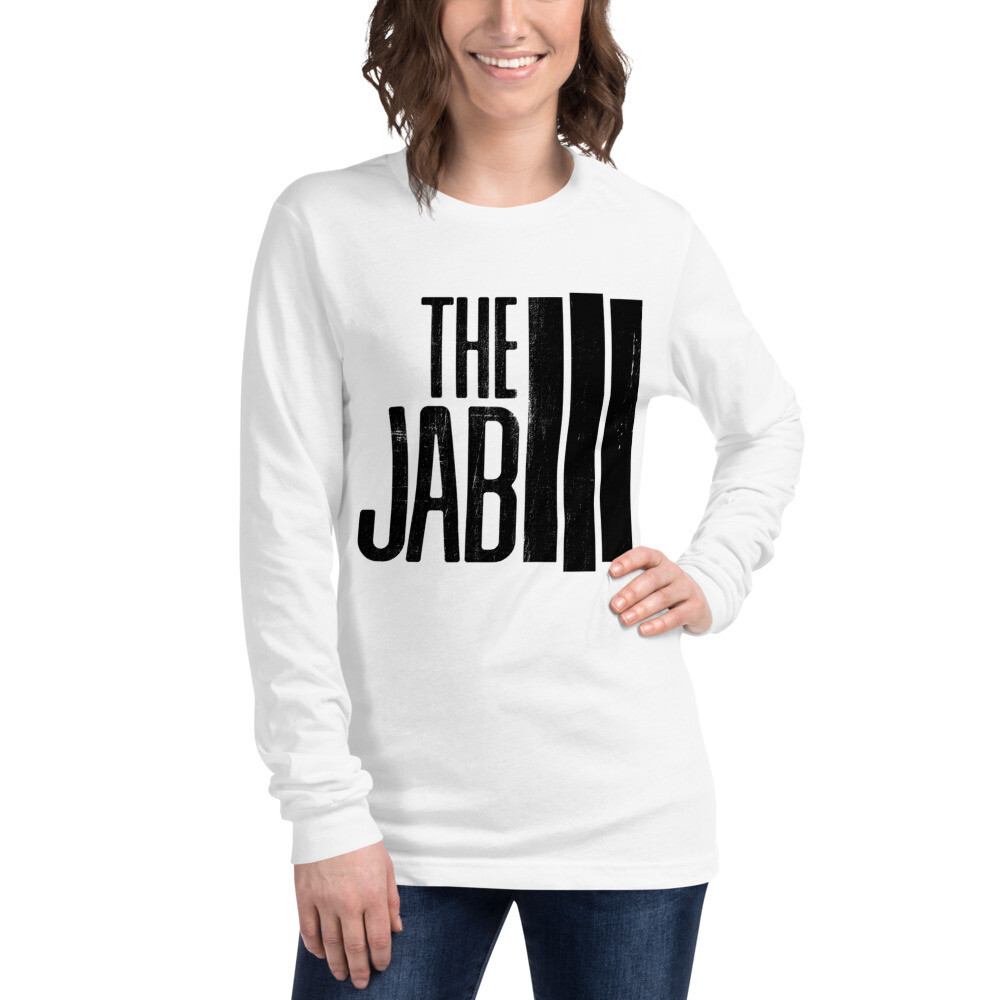 The JAB Black Logo. Women's Long Sleeve T-Shirt. 5 Colors.