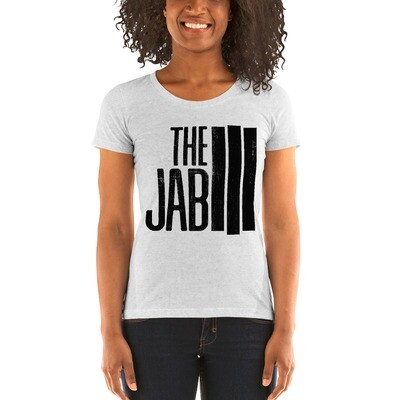 The JAB Black Logo. Women's Short-Sleeve T-Shirt. 4 Colors.